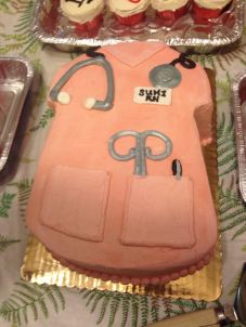 The celebratory cake for my RN sister :)