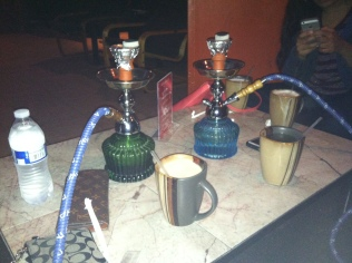 Hookah for my 30th bday. Tasted like shit. First and last.
