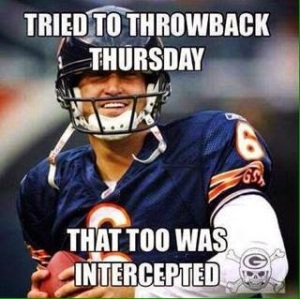 Tried to throwback thursday that too was intercepted