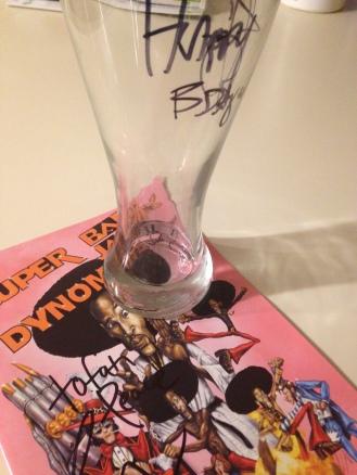 Autographed souvenirs