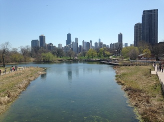 View from Lincoln Park Zoo
