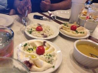 Hummus, Baba Ghanouj