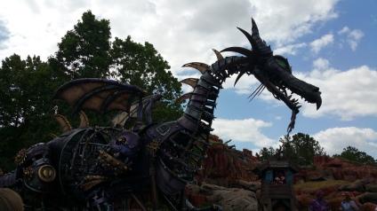 Dragon from Sleeping Beauty